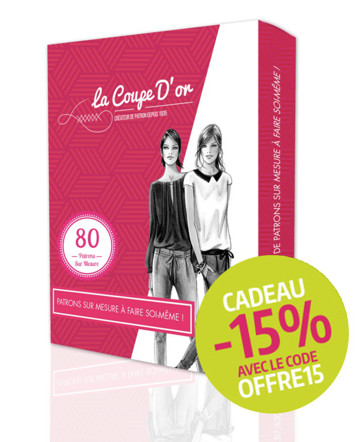 Coffret start 80 mod les sans r gles la coupe d 39 or for Coffret de couture